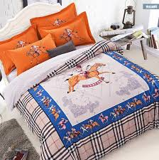 horse comforter bedding set sheets quilt duvet cover bed in a bag spread bedspread linen doona king queen size 100 cotton thick white duvet covers red