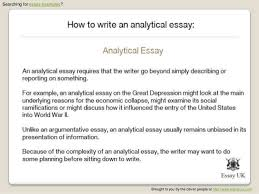write an analytical paper sample analytic essay sfu