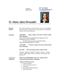 Examples Of Resumes Primer Resume Template The Muse For Word