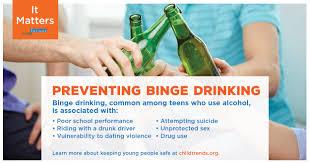 Teen suicide and binge drinking