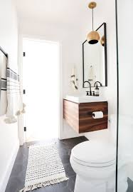 Guest Bathroom Lighting Ideas You Know We Love A Good Midcentury Bathroom Lighting Idea