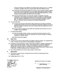 board of directors minutes of meeting template example board of director meeting minutes free download