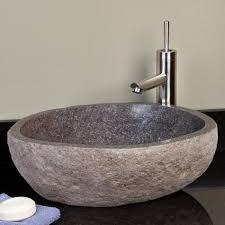 stone vessel bathroom sink clearance peak vessel sink 20inch dark oil rubbed bronze solid brass led rain shower head jets home improvement and