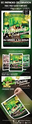 celebration flyer template. Free St Patricks Celebration Flyer Template by ElegantFlyer