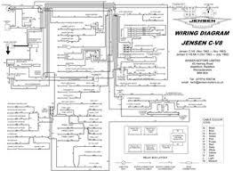 jensen c v8 pdf downloads jensen c v8 mkii 1964 paul anderson Jensen Healey Wiring Diagram jensen c v8 mki & mk ii wiring diagram jensen healey wiring diagram