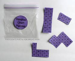 Hundred Chart Puzzles Colorize Playdough To Plato