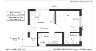 small house plan shp 1012