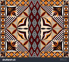 Samoan Siapo Designs Samoan Siapo Pattern Quilt Stock Photo Edit Now 86218306