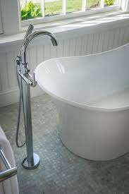 Roman Soaking Tub bathroom soaking tub with floor mount delta garden tub faucet and 8136 by guidejewelry.us