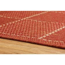 oriental weavers checked flatweave terracotta oriental weavers checked flatweave terracotta