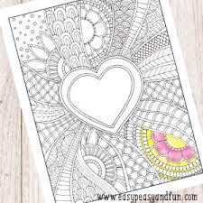 Free Coloring Pages For Adults Archives Easy Peasy And Fun
