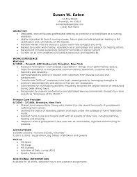 Sample Lvn Resume No Experience Najmlaemah Com