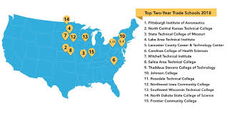 Vocational Careers List The Top 25 Two Year Trade Schools Colleges That Can Solve