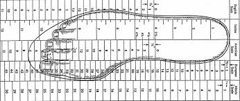 39 Ageless Foot Measurement Shoe Size Chart