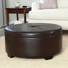 dark brown round vintage tufted leather storage ottoman coffee table designs to decorate small rothwell bonded bench ottom