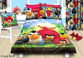 angry bird bed sheets colourful angry birds bedroom