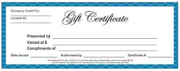 Gift Card Word Template Gift Certificate Template 1 Gift Certificate Template Word