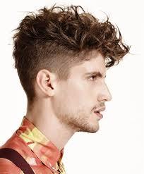 2016 Mens Trendy Undercut Hairstyles For Curly Hair Mens