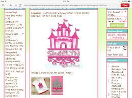 Lynnie Pinnie Embroidery Designs Split Swirly Castle Lynnie Pinnie Embroidery Embroidery