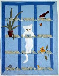 35 best Quilting:Attic Windows images on Pinterest | Tutorials ... & Cat In The Window Quilt Pattern At Bonnet Girls Christmas Cat Quilt  Patterns Free Cat Quilt Applique Patterns Cat Quilts Patterns Adamdwight.com