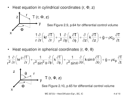 4 heat equation in cylindrical coordinates