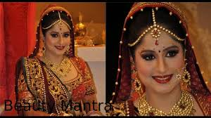 bridal makeup royal look