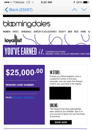 bloomingdale s accidentally credited customers 25 000 and one hero took advane of almost all of it