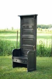 DIY PROJECTS - Old Door to Bench
