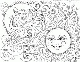 Adult Coloring Page Awesome Nature Adult