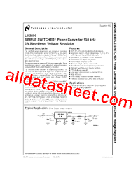 Adjectives Chart Pdf Lm2596t Adj Datasheet Pdf National Semiconductor Ti