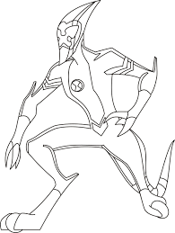 Small Picture Ben 10 Preparing To Pursue The Enemy Ben 10 Coloring Pages