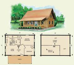 small log cabin floor plans.  Plans Small Log Cabin Homes Floor Plans Cabins And Cottages Intended A