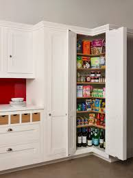 Kitchen Storage Room A Harvey Jones Corner Larder A Great Solution For Maximising