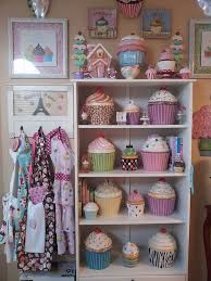 Cupcake Kitchen Accessories Decor