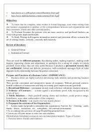 Business Communication Letters Pdf Business Letters