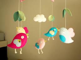 Cute Baby Crib Mobile Bird