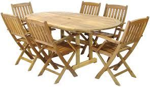 folding patio table set inspirational wooden folding patio inside wooden garden furniture 6 chairs