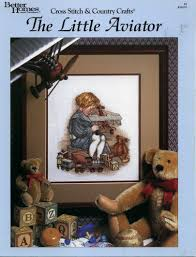 101 Best Loved Designs From Cross Stitch And Country Crafts The Little Aviator Cross Stitch Country Crafts 4