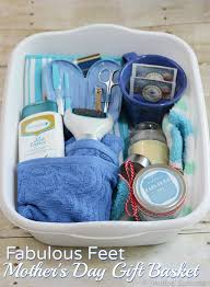 put together this fabulous feet gift basket for your mom as a great mother s day gift