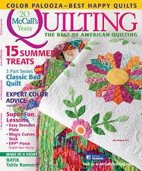 McCall's Quilting July August 2013 Digital Edition &  Adamdwight.com