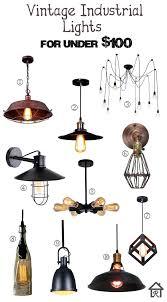 chandeliers under 100 boy room vintage industrial lighting dollars