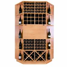 Wine storage table Silver Vigilant Inc 106 Bottle Wine Rack Table Deluxe Wine Racks