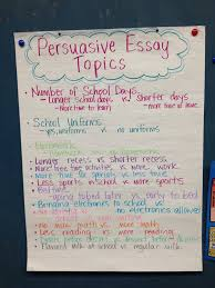 best persuasive essay topics ideas opinion  persuasive essay topics
