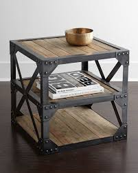 modern industrial design furniture. side table with a modern industrialinspired aesthetic made of reclaimed fir and industrial furnitureindustrial styleindustrial design furniture