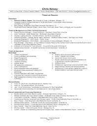Stagehand Resume Examples Generous Stagehand Resume Templates Contemporary Example Resume 3