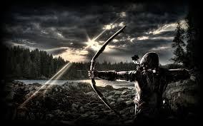 2400x1595 bow hunting archery archer