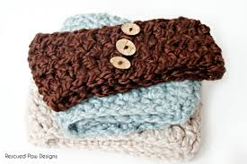 Crochet Ear Warmer Pattern Impressive Crochet Ear Warmer Crochet Pattern Giveaway Rescued Paw Designs