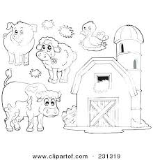 Farmer Coloring Pages Cloudberryladycom