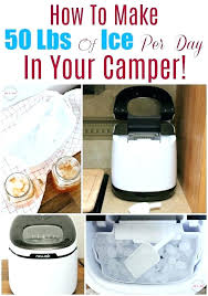 igloo countertop ice maker best ice maker how to make pounds of ice per day in