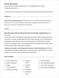 personal profile examples resume profile examples for resumes